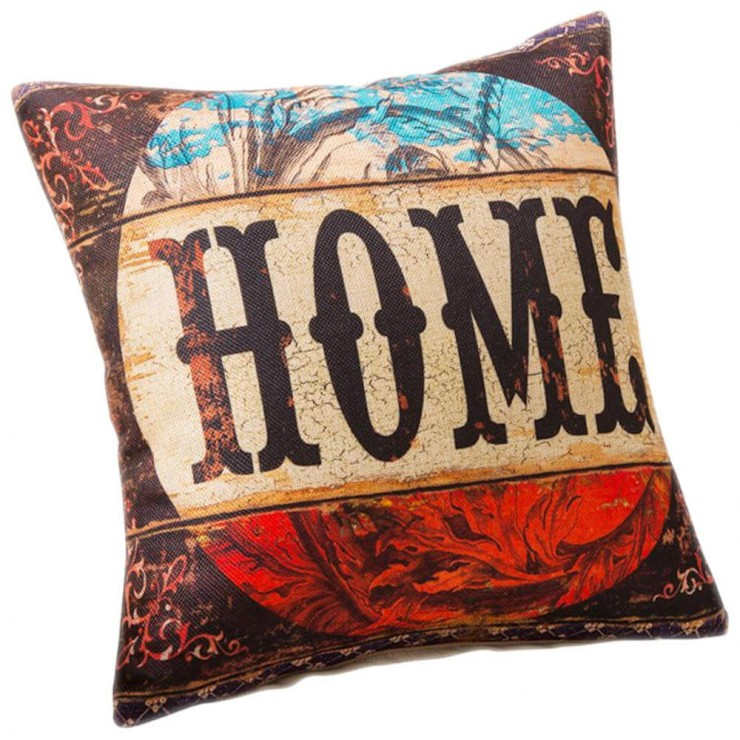 Home Rustic Decorative Throw Pillow Pillow Frenzy
