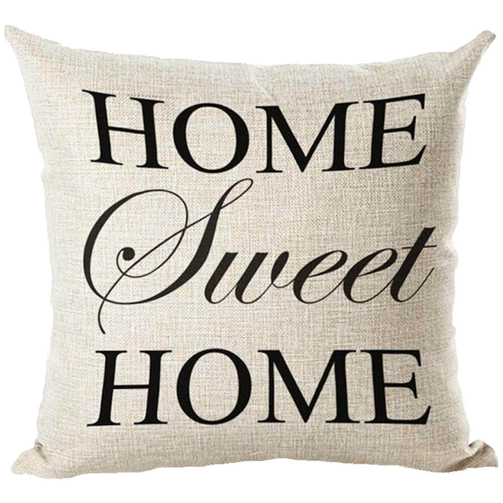 Home Sweet Home 2 Home Sweet Home pillow christmas gift word pillow throw pillow phrase pillow